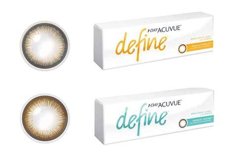 define color buy 1 day acuvue define radiant bright charm plano non
