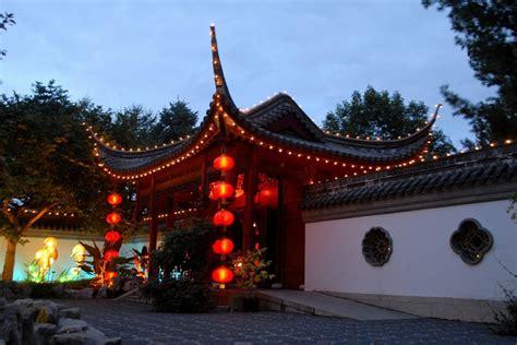 chinese house montreal botanic gardens chinese lantern festival 2008