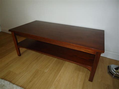 marks and spencer solid wood coffee table with shelf