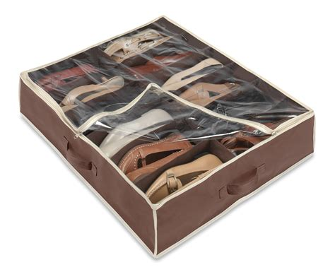 Underbed Shoe Storage Is Interesting Solution To Keep Footwear Shoe Cabinet Reviews 2015
