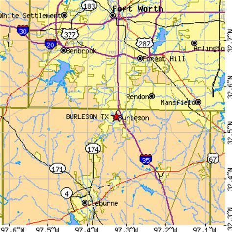 burleson texas map burleson texas