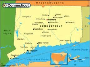 Map Connecticut New York by Language Culture Origin