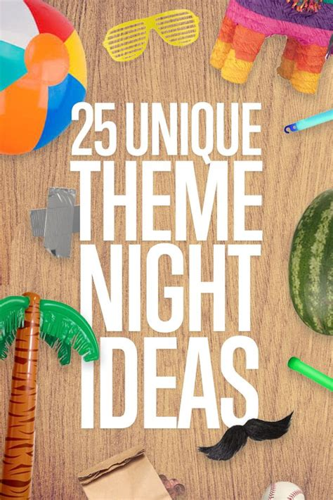 themes ideas for summer c 25 unique theme nights summer good ideas and duct tape