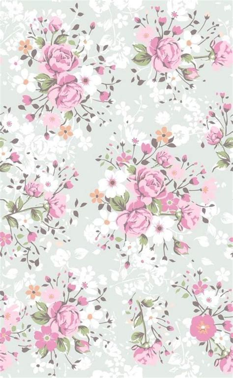 flower pattern we heart it 插画手绘 来自童米格格的图片分享 堆糖 papeles pinterest wallpapers