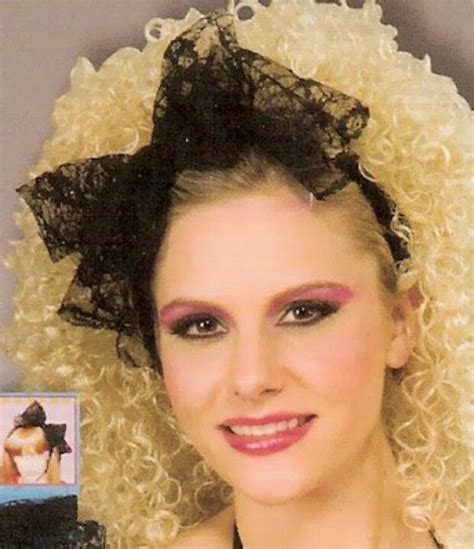 80s hair styles with scarves lace makeup and the o jays on pinterest