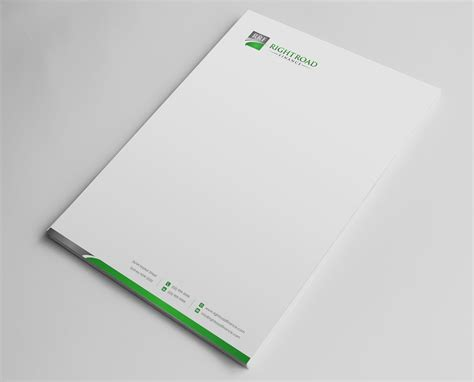 Au Finance Letterhead letterhead design for stefanie cutrera by logodentity