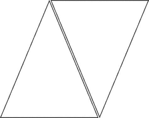 triangle template for banner printables pinterest