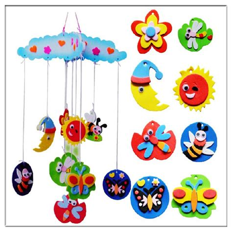 Handmade For Children - new animal 3d puzzles handmade bells hang decorations
