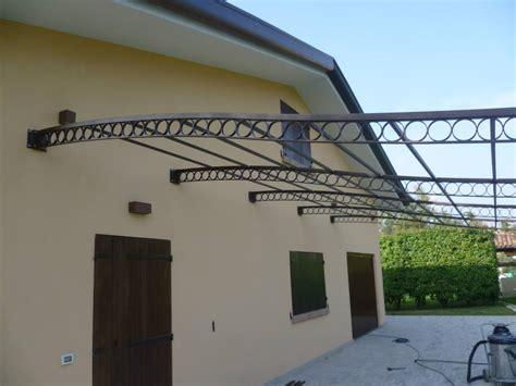 tettoia in acciaio carpenteria metallica venezia tettoia in acciaio