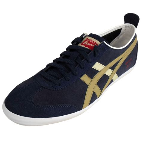 Assic Onitsuka Tiger Original Sheep Leather mens asics onitsuka tiger mexico 66 trainers suede leather
