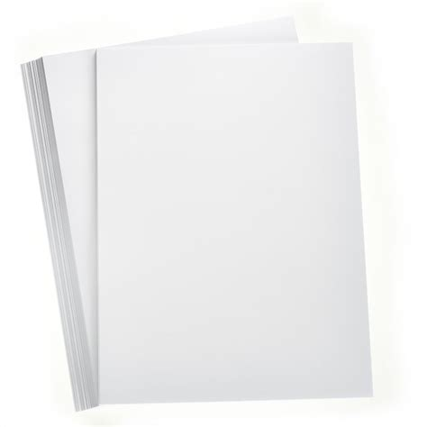 White Craft Paper - white premium smooth paper a4 100 pack hobbycraft