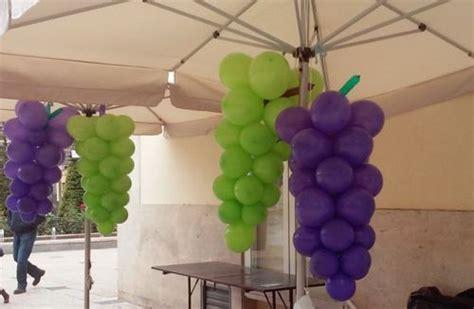imagenes de uvas en bombas como hacer un ramo de uvas con globos