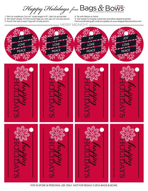 printable tags for gift bags 17 best images about printable free gift tags on