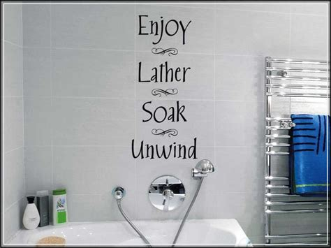 bathroom sink decals bathroom wall decals and decoration alternatives for lavatory home design ideas plans