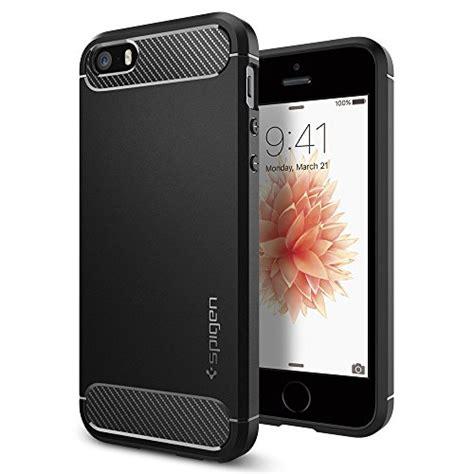 Spigen Iph 5 coque iphone se spigen coque iphone 5s 5 rugged armor resilient black ultimate protection