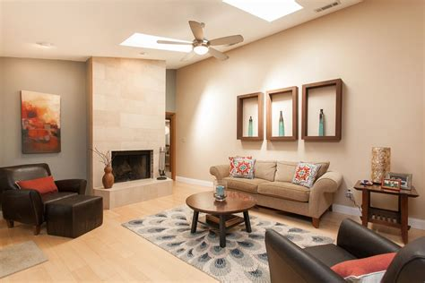 contemporary livingrooms contemporary living room with ceiling fan hardwood