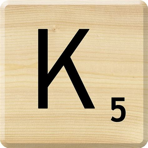 two letter scrabble words with k quot scrabble letter k quot by scrabbler redbubble letters
