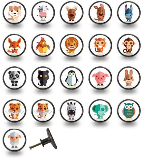 Animal Door Knobs by Animal Character Cabinet Cupboard Door Drawer Knobs By