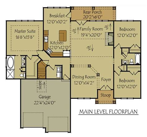 mountain cabin floor plans mountain cottage floor plan house plans pinterest