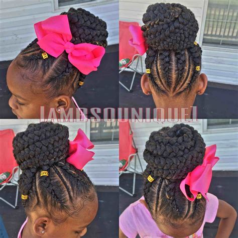 kids hairstyles braided into a bun kids braided hairstyles into a bun fashionables xyz