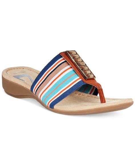 ak sandals klein ak knohow sport sandals in blue lyst