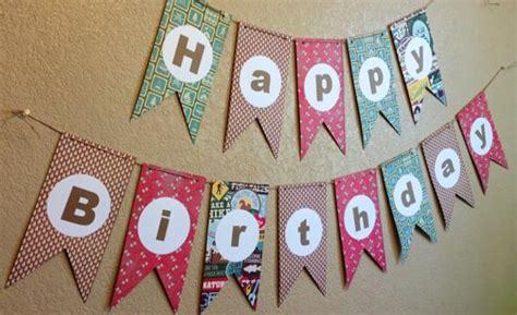Handmade Birthday Banner Ideas - 15 best birthday decoration ideas for a