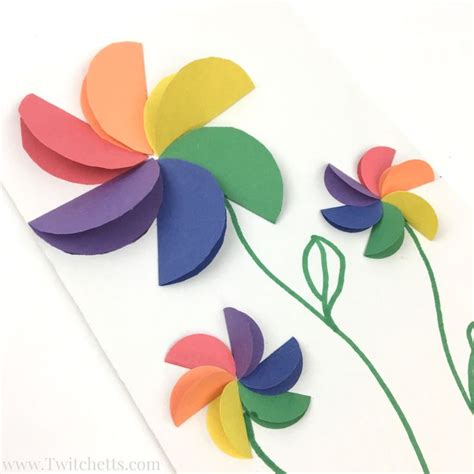 construction paper flower pattern 61 best images about mother s day on pinterest