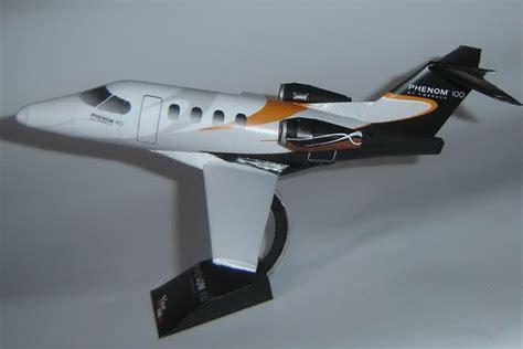 Papercraft Jet - embraer phenom 100 jet papercraft papercraft paradise