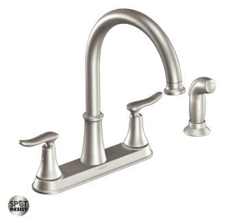 moen solidad kitchen faucet faucet ca87015srs in spot resist stainless by moen