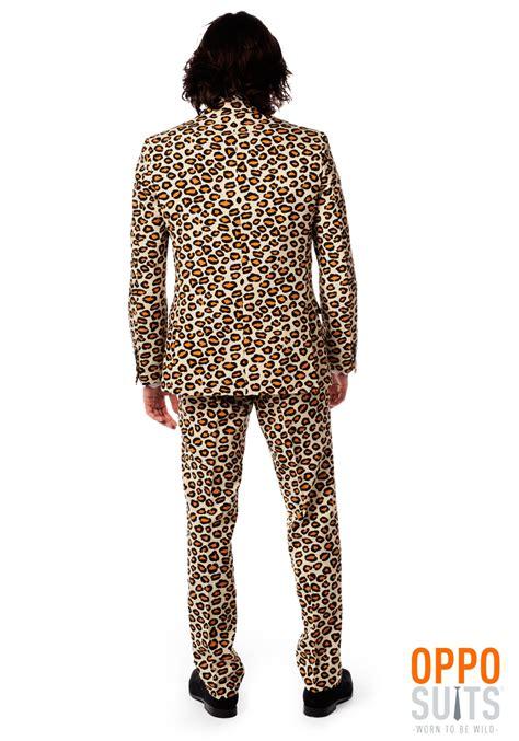 jaguar costume men s jaguar print suit opposuits costume