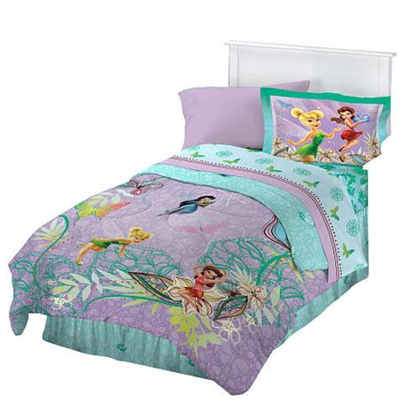 disney fairies butterfly twin bedding set tinkerbell