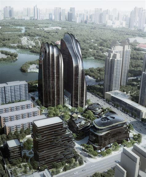 designers and architects chaoyang park plaza by mad architects breaks ground in beijing