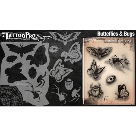 tattoo kit perth wiser s tattoo pro butterflies bugs