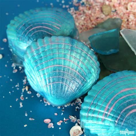 Mermaid Shell mermaid shell melt and pour kit