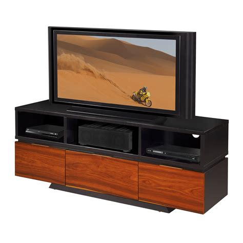 sleek contemporary console tv stand wenge tv stands