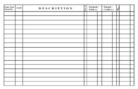 card register template debit card register template 28 images free excel