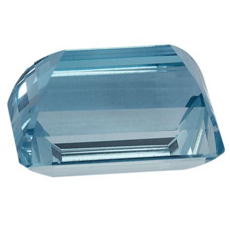 Octagon Aquamarine octagon genuine aquamarine single s