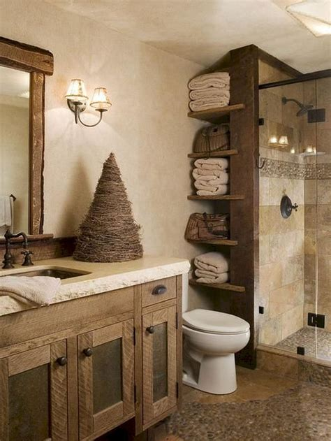 cool modern farmhouse bathroom design ideas 63