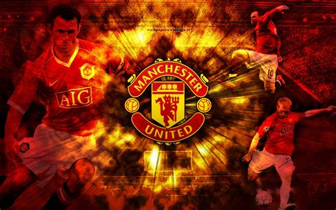 wallpaper dinding manchester united manchester united wallpapers wallpaper cave