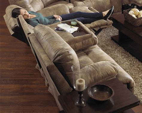 reclining sofa with fold table reclining sofa with table casual reclining sofa with fold