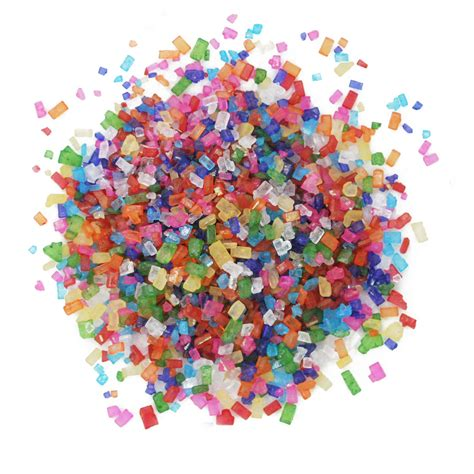 colored sugar crystals decorative white sugar crystals large size aa standard