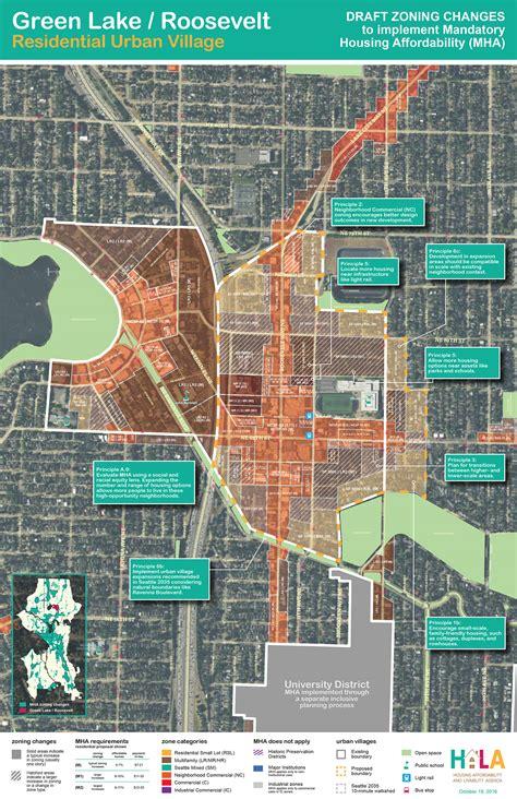 seattle zoning map pdf draft zoning maps for green lake green lake
