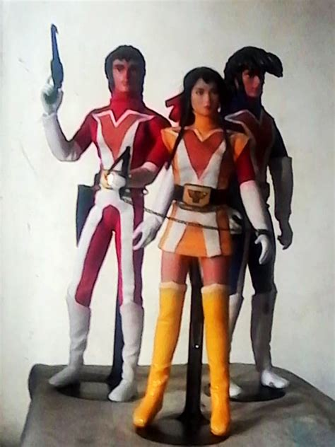 voltes v figure voltes v the three voltes team members figures by bdy on