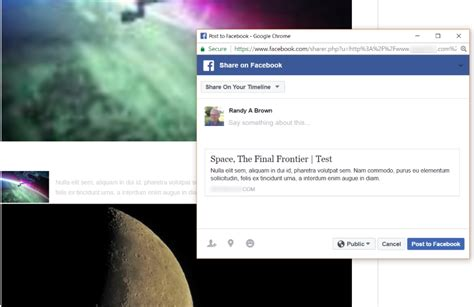 facebook themes link how to use facebook debugger to fix wordpress links on