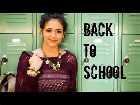 hair and makeup for school fast fabulous back to school hair makeup outfit