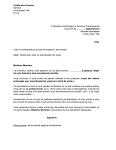 Exemple De Lettre Commerciale Pour Vendre Un Produit modele de lettre pour vendre un produit contrat de