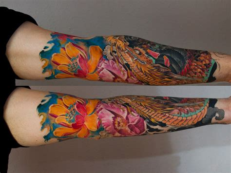japanese lotus tattoo lotus japanese sleeve japanese