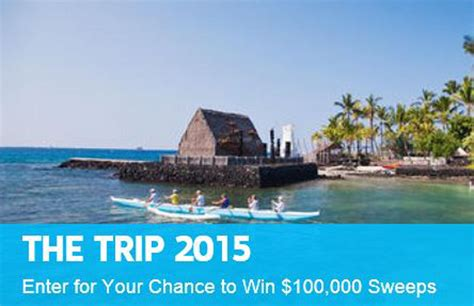 Trip Sweepstakes - 100 000 hawaii sweepstakes milesgeek milesgeek