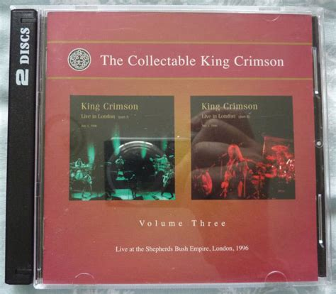 king s the xander king series volume 4 books king crimson the collectors club series records lps