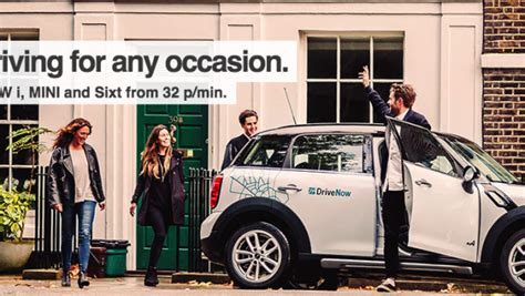 drive now uk bmw car sharing program opens in london